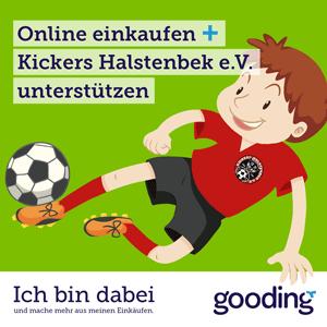 Unterstütze Kickers Halstenbek e.V. durch deine Einkäufe. Ganz ohne Mehrkosten.
